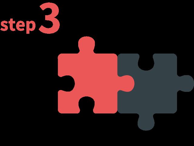 ご登録からお仕事までの流れ ステップ3 あなたにマッチした案件のご紹介