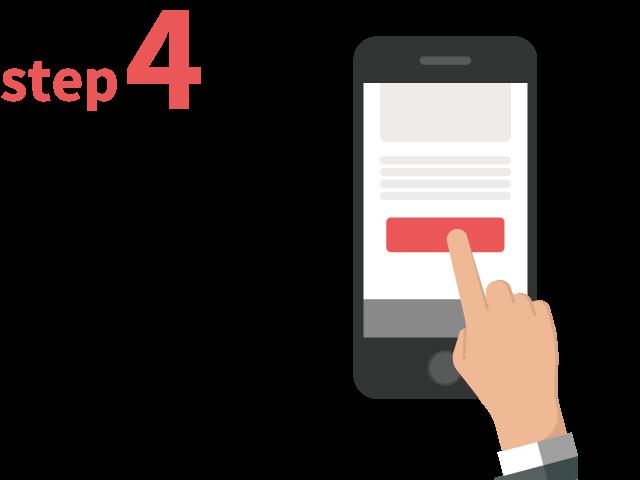 ご登録からお仕事までの流れ ステップ4 気になる案件へのご応募